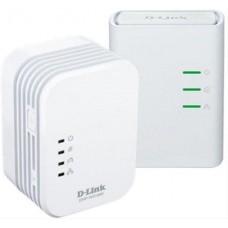 Adaptador Powerline Av2 500hd D-link 2ud Wifi