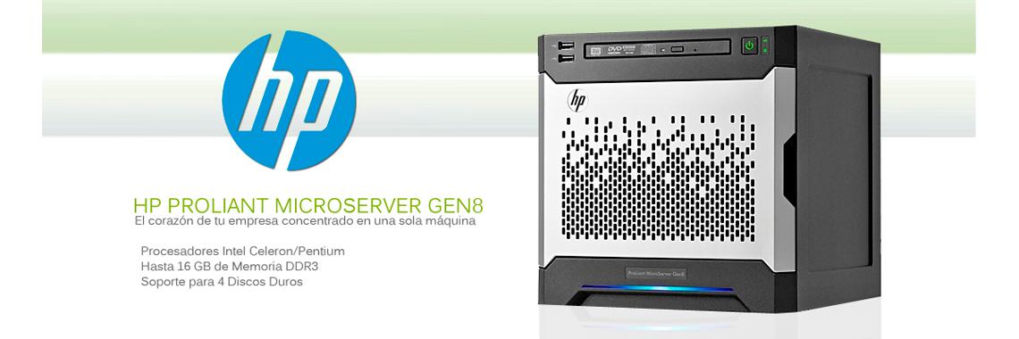 Microservidor HP Proliant GEN8