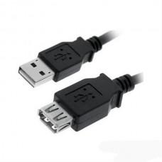 Cable Prolongacion Usb 2.0 A/m-a/h 1.0m Negro Nanocable