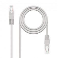 Cable Red Latiguillo Rj45 Cat.5e Utp Awg24,10m Gris Nanocable
