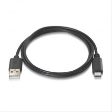 Cable Usb 2.0 3a, Tipo C Usb-c/m-a/m 2m Negro