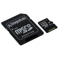Memoria Micro Sd 64gb Clase 10 Sdhc Kingston