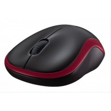 Raton Logitech M185 Rojo Wireless